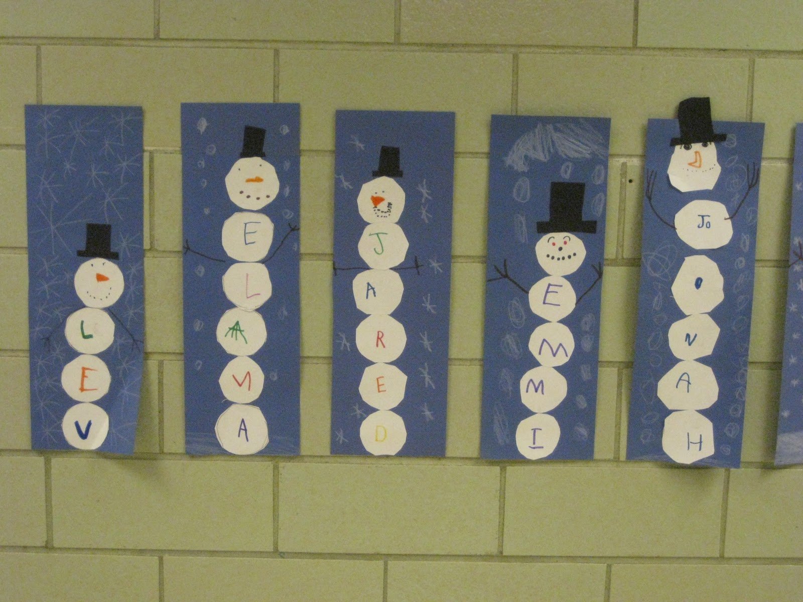 ... graph snowmen. Which snowman was the tallest? Which was the shortest