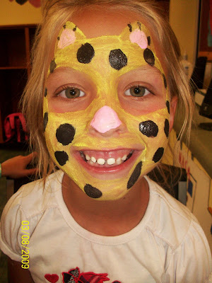Face Paint Bumble Bee http://www.pcdaycamp.blogspot.com/
