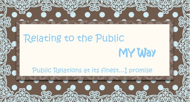 Relating to the Public: My Way