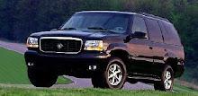 Den 4 hjuliga jag kör är en Cadillac Escalade -99.