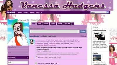 facebook layout skin template theme vanessa hudgens gabriela
