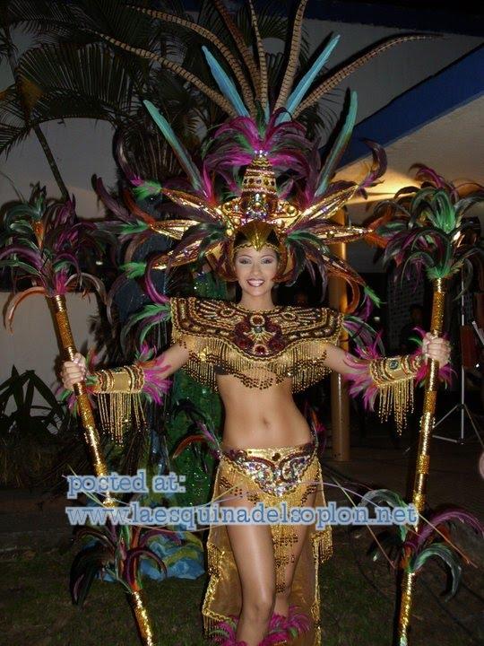 TRAJE FANTASIA DEL MISS TACHIRA 2010 EN LA NOCHE DE AYER