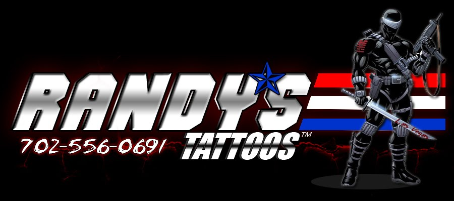 TATTOOS by Randy 702-556-0691