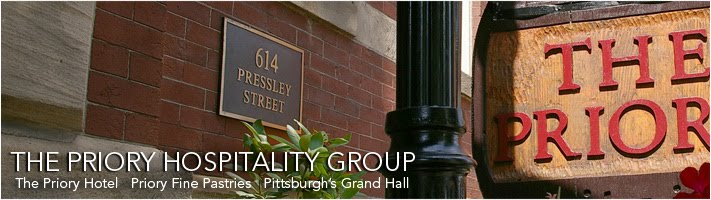 Priory Hospitality Group : The Priory Hotel Pittsburgh&#39;s Grand Hall Priory Fine Pastries