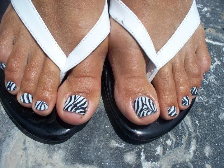 glitter toes steph trendy nails