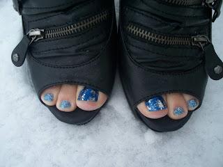 Glitter Toes by Steph: SheeKee - Glitter Toes - Shellac Nails in Utah