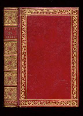 maroquin rouge de Simier