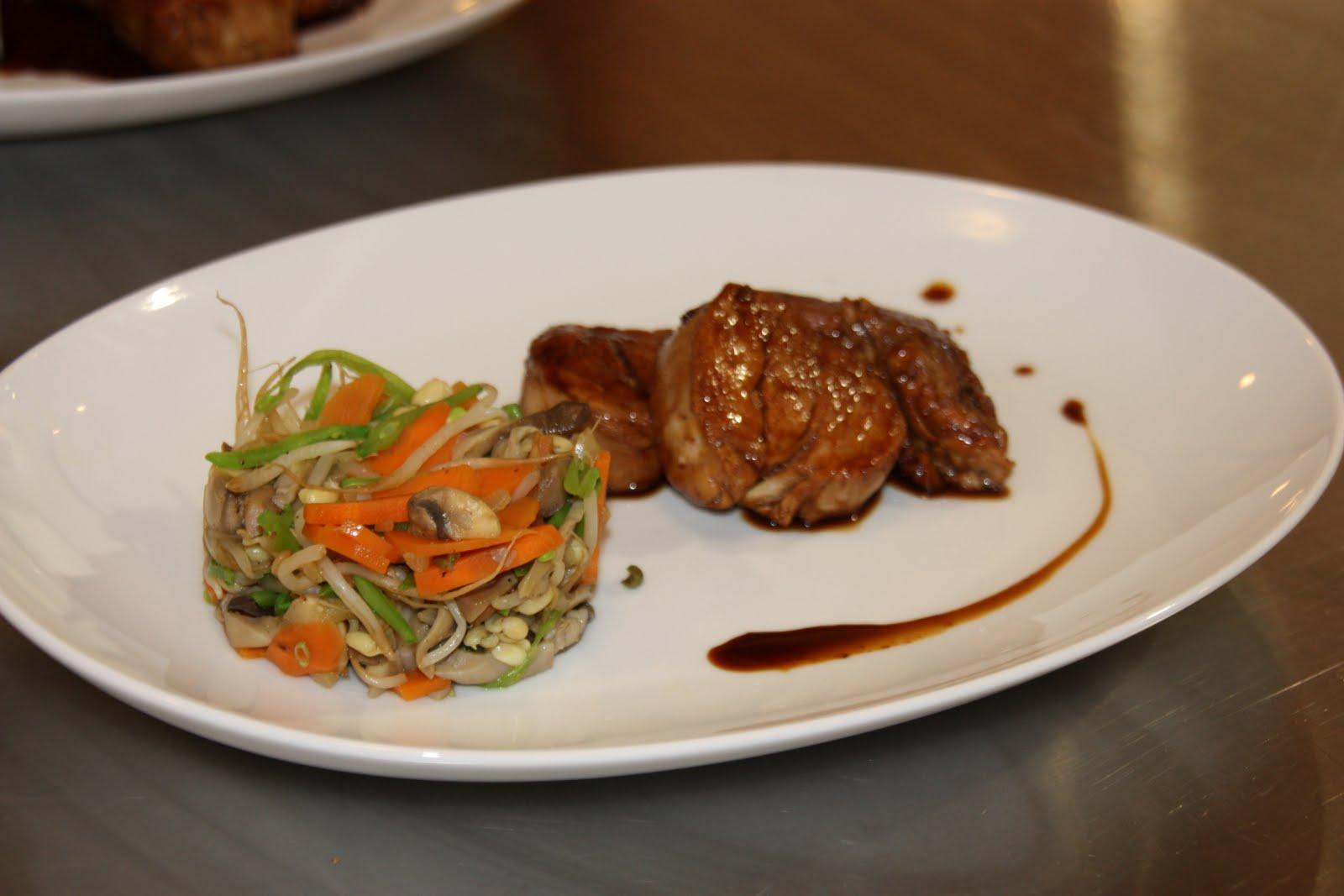 Cuisine rime avec delphine filet mignon de porc laqu au - Cuisine filet mignon de porc ...