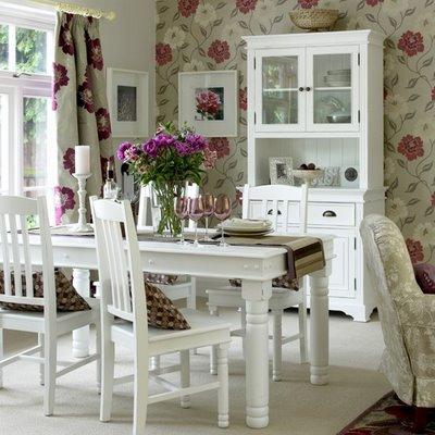 decoracao sala de jantar papel de parede