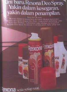 poster iklan Rexona 80 an