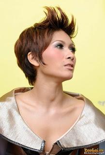 PGP: Trend Model Gaya Rambut Super Pendek Artis Selebritis Indonesia