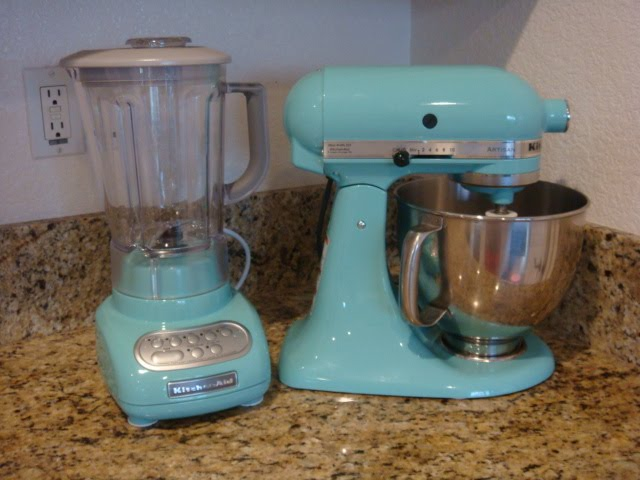 Beau I Just Received My New Blender Yesterday. I Am Completely In Love With This  Color. Both Pieces Are From The Kitchen Aid Martha Stewart Collection.