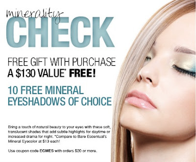 ELF Mineral 10 free mineral eyeshadows