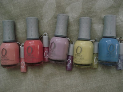 Orly Sweet all bottles