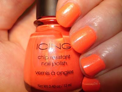 icing orange