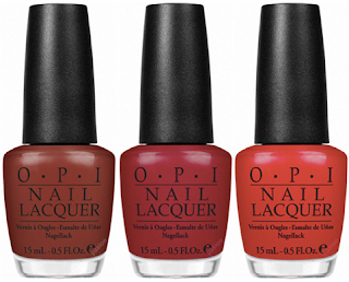 OPI Swiss collection bottle pics red