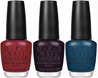 OPI Swiss collection bottles