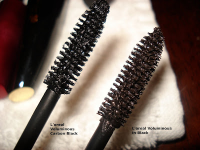 voluminous carbon black vs black