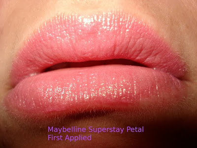 maybelline superstay lipcolour in petal