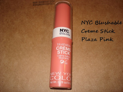 NYC Blushable Creme Stick in Plaza Pink