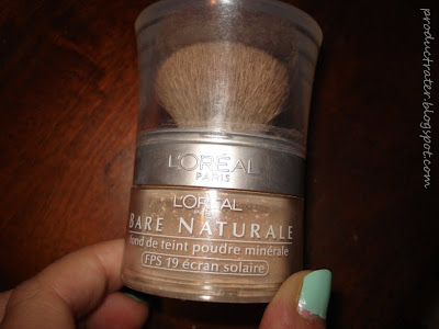 loreal bare naturale foundation