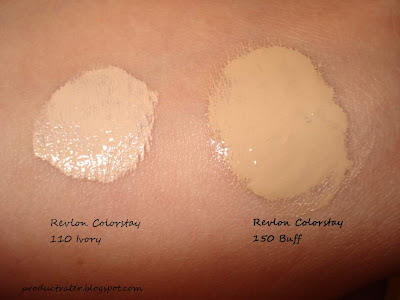revlon colorstay ivory and buff