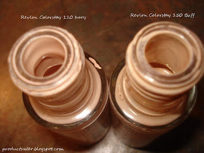 revlon colorstay buff and ivory