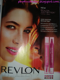 revlon just bitten lipstain and balm