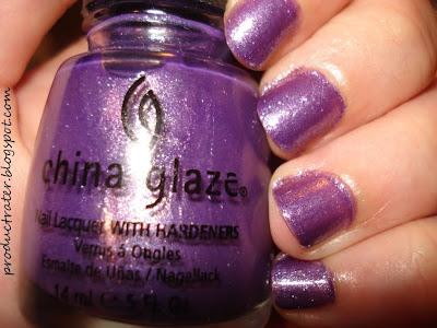 china glaze grape juice