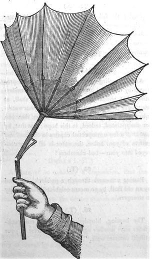 how to fix a broken umbrella handle