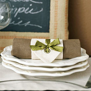 Ador: napkin ring ideas