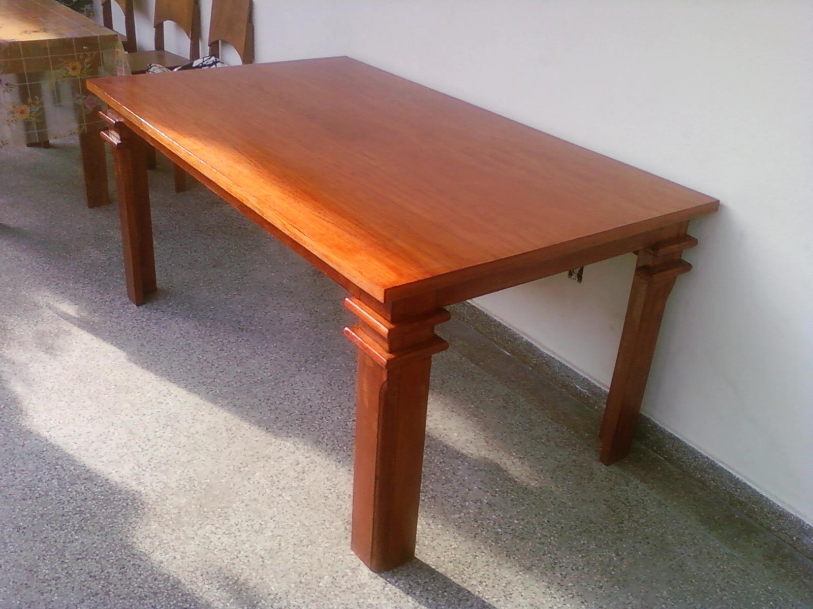 Mesa de Jantar em Angelim e Cedro Restaurado #AB5420 1600x1200