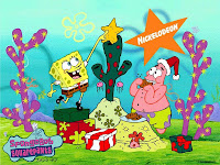 Spongebob Christmas Desktop Wallpapers