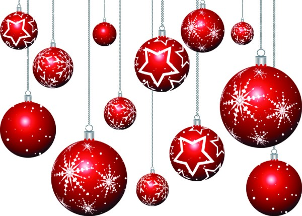 Free christmas desktop wallpapers april 2010 - Hanging christmas ornaments ...