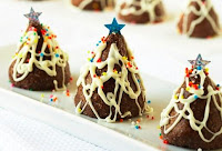 christmas tree shape chocolates