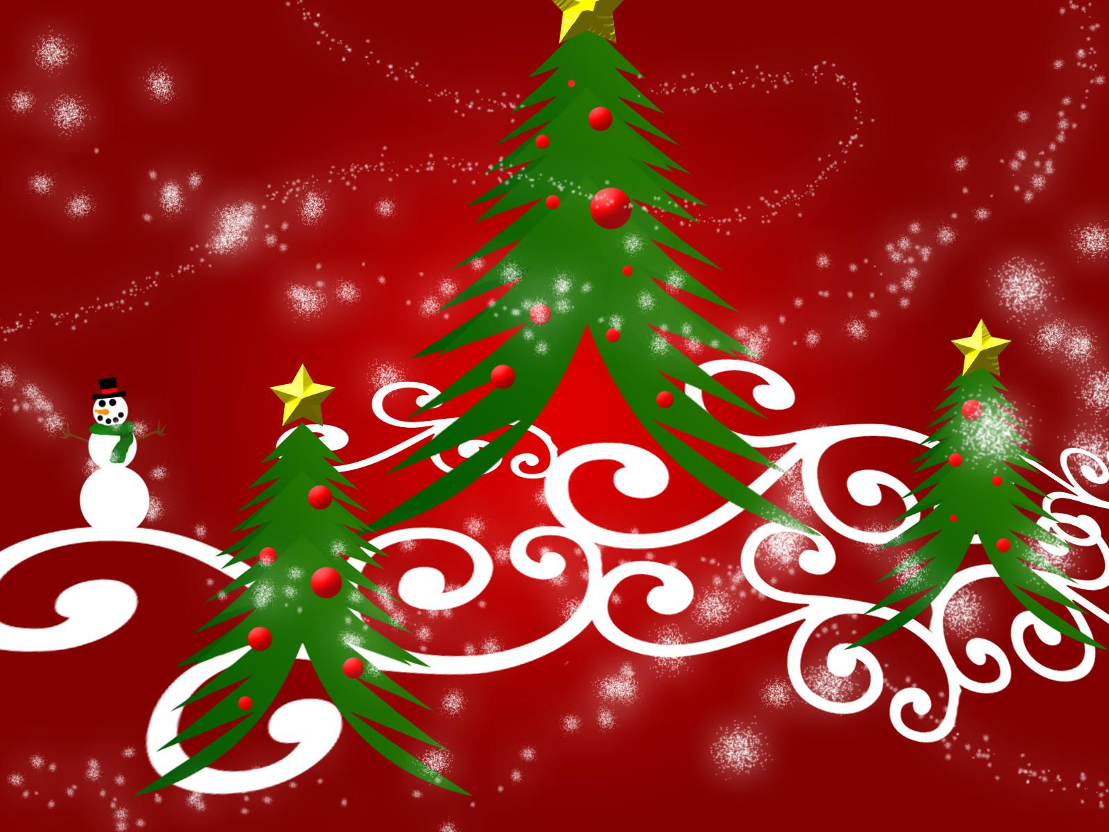 free christmas desktop wallpapers christmas abstract