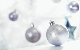 white christmas ornament wallpaper for desktops