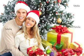 Christmas Couple Desktop Wallpapers