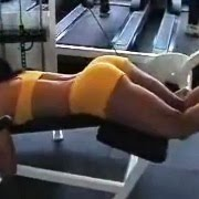 (video) Gostosa na academia