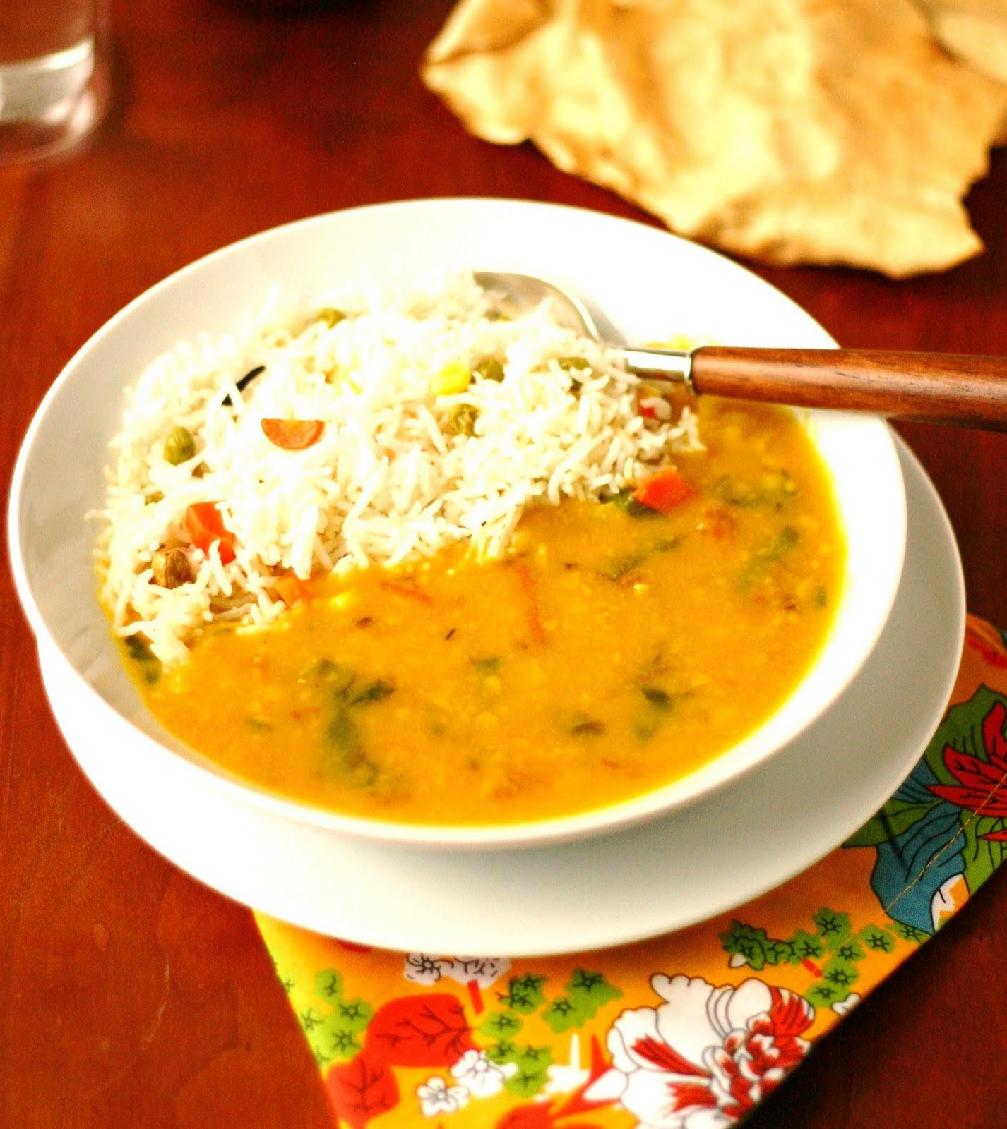 The daily tiffin quick indian dal chaval quick indian dal chaval forumfinder