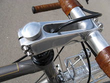 Stem on a Rene Herse bicycle