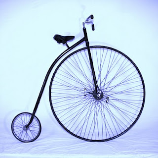 Canal Jean Vintage Ariel Bicycle 1800 S