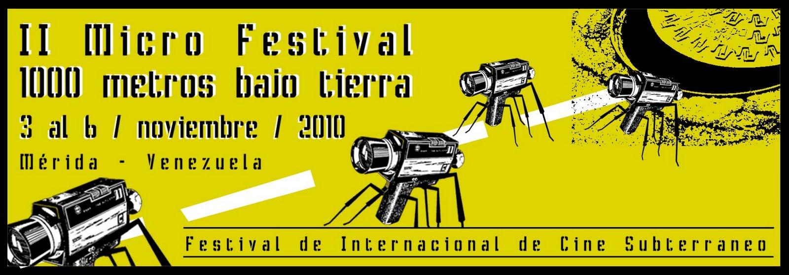 Muestra Retrospectiva en el Festival Cine Pobre