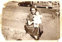 Gackey with my Mom in 1951
