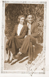 JB &amp; Miriam Davis in 1933