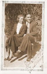 JB & Miriam Davis in 1933