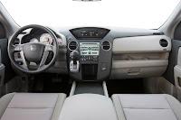09 Honda Pilot EX Interior