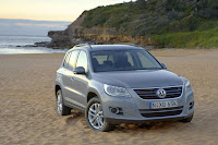 VW Launches 2009 Tiguan SUV In Australia