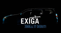 2009 Subaru Exiga MPV To Debut In Japan