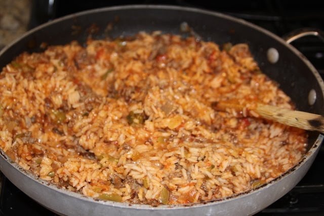 Recipes We Love: Red Rice with sausage and peppers